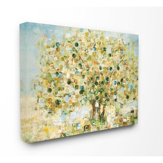 Abstract Apple Tree Stretched Canvas Wall Art