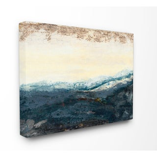 The Sea in the Morning Stretched Canvas Wall Art