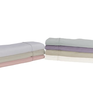 Sleep like a King 100% cotton 400 Thread Count Pillowcase Pair designed by Larry and Shawn King