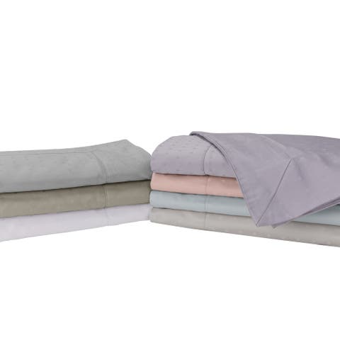 Sleep Like A King 100% Cotton 700 Thread Pillow Sham pair Designed by Larry and Shawn King