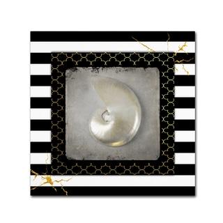 LightBoxJournal 'Golden Sea With Stripes 5' Canvas Art
