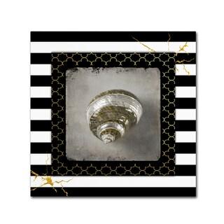 LightBoxJournal 'Golden Sea With Stripes 3' Canvas Art