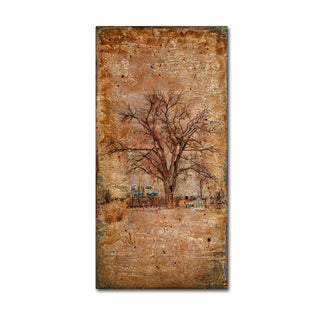 LightBoxJournal 'Autumn Tree Duo' Canvas Art