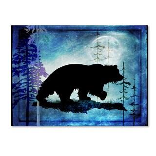 LightBoxJournal 'Midnight Bear' Canvas Art