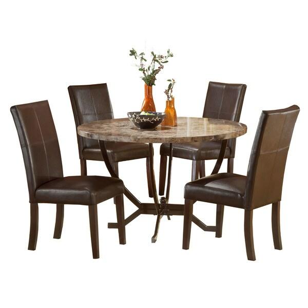 Hillsdale Furniture Bennington 5pc Dining Room Set In: Shop Hillsdale Furniture Monaco Matte Espresso Wood/Faux