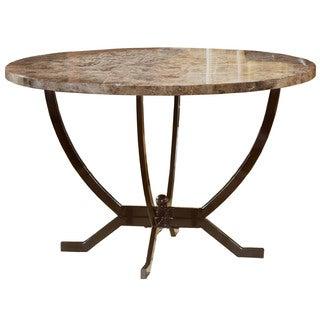 Hillsdale Furniture Monaco Dining Table in Matte Espresso Finish