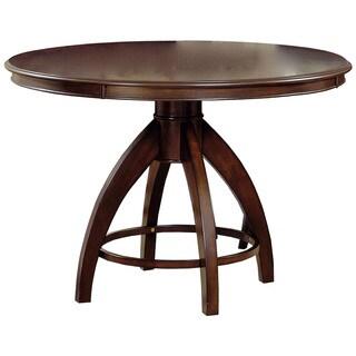 Hillsdale Furniture Nottingham Dark Walnut Wood Round Table