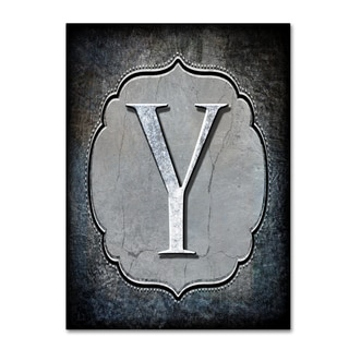 LightBoxJournal 'Letter Y' Canvas Art