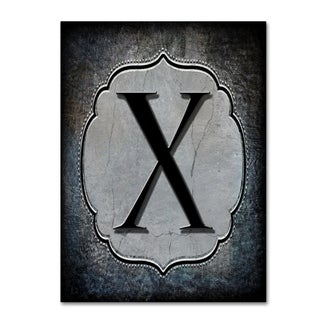 LightBoxJournal 'Letter X' Canvas Art
