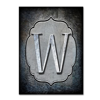 LightBoxJournal 'Letter W' Canvas Art