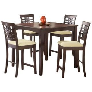 Hillsdale Furniture Tiburon Espresso-finish Counter-height Dining Set (5 Piece)