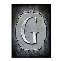 LightBoxJournal 'Letter G' Canvas Art