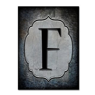LightBoxJournal 'Letter F' Canvas Art