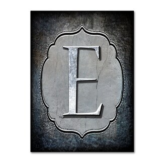 LightBoxJournal 'Letter E' Canvas Art