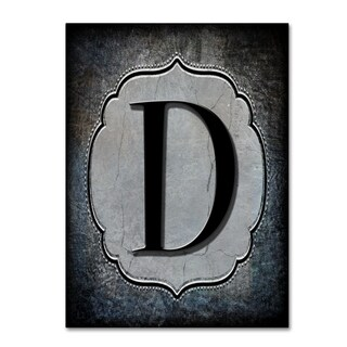 LightBoxJournal 'Letter D' Canvas Art