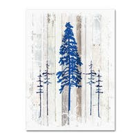 LightBoxJournal 'The Blue Moose - Lodge Pole Pine' Canvas Art