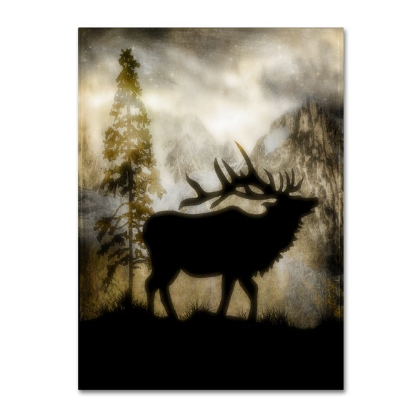 LightBoxJournal 'Mystic Elk' Canvas Art