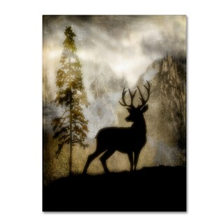 LightBoxJournal 'Mystic Deer' Canvas Art