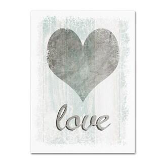 LightBoxJournal 'Love' Canvas Art