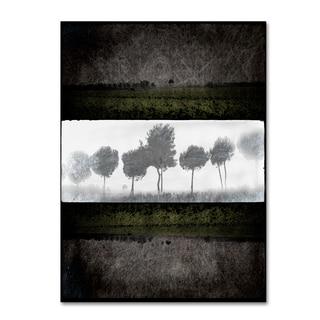 LightBoxJournal 'Black Tree 2' Canvas Art