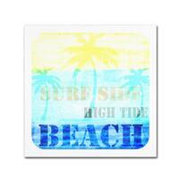 LightBoxJournal 'Welcome Beach 1' Canvas Art