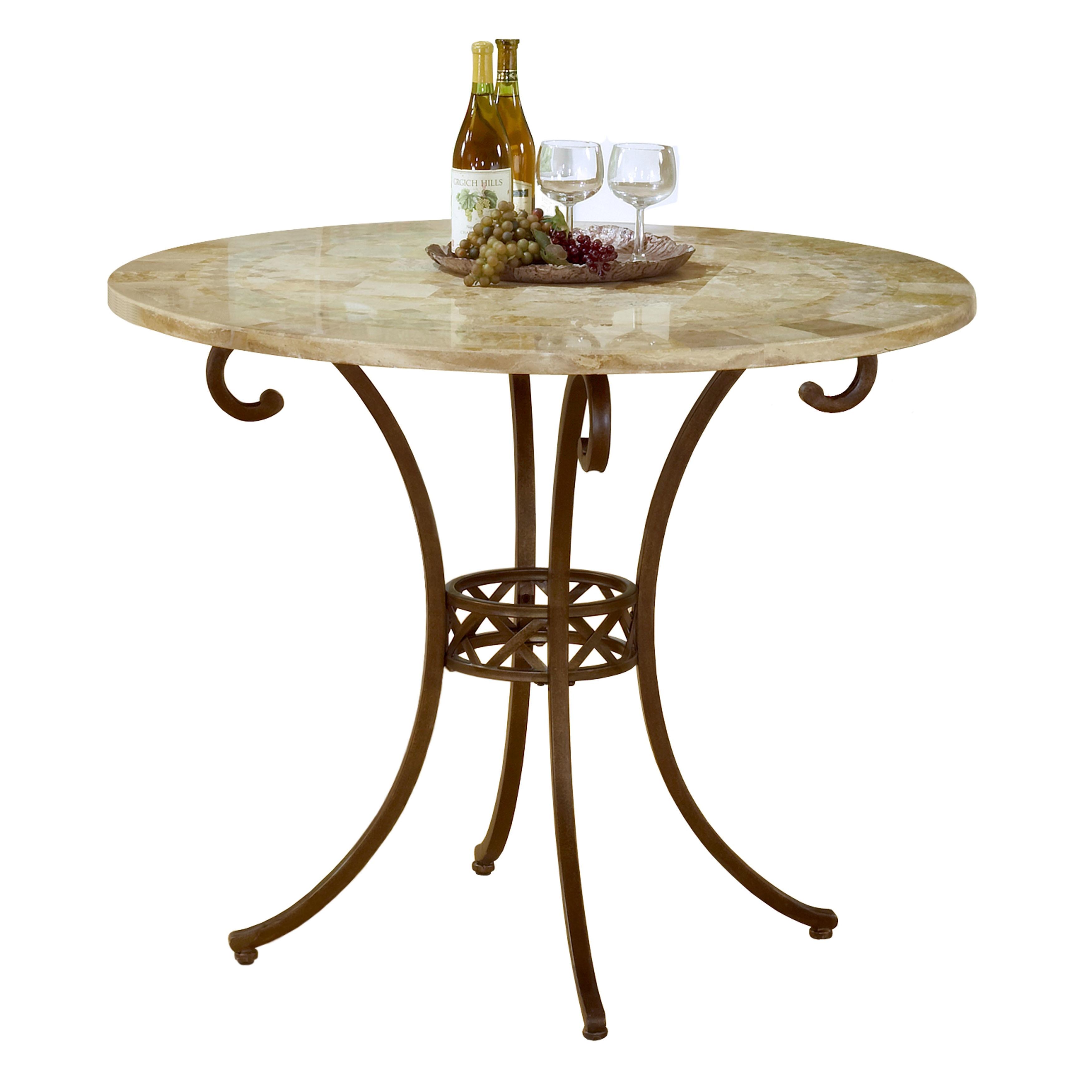 Hillsdale Furniture Brookside Brown Powdercoat Counter He...