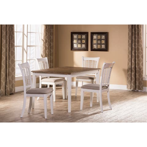 Hillsdale Furniture Bayberry 5-Piece Rectangle Dining Set