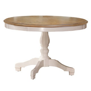 Hillsdale Furniture Bayberry/Embassy White-finish Round Dining Table - White