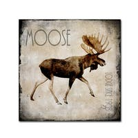 LightBoxJournal 'Moose Lodge 2' Canvas Art