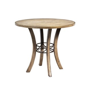 Hillsdale Furniture Charlestown Desert Tan Finish Wood Round Counter-height Table