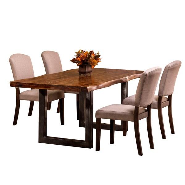 Hillsdale Furniture Emerson Natural Sheesham 5-piece Dining Set