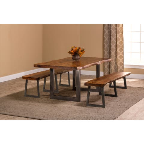 Hillsdale Furniture Emerson Natural Sheesham 3-piece Dining Set