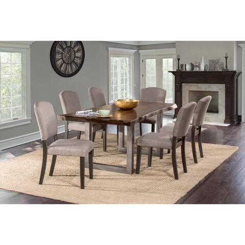 Hillsdale Furniture Emerson Grey Sheesham 7-piece Dining Set