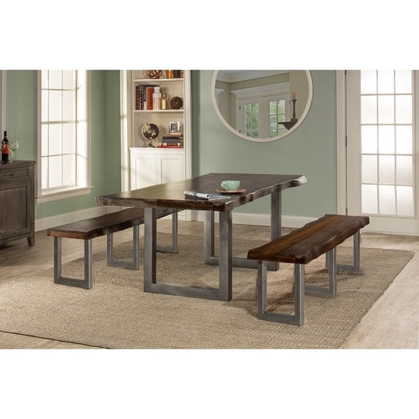 Hillsdale Furniture Emerson 3-Piece Rectangle Dining Set