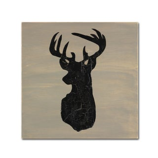 LightBoxJournal 'Love Deer' Canvas Art