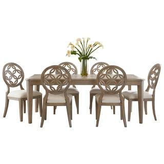 Hillsdale Furniture Savona Vintage Grey Finish 7-piece Dining Set