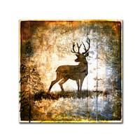 LightBoxJournal 'High Country Deer' Canvas Art