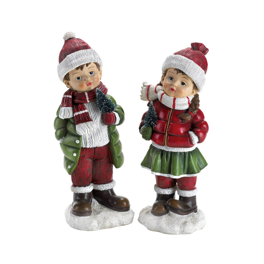 Koehler Home Decor Holly and Noel Christmas Holiday Figur...