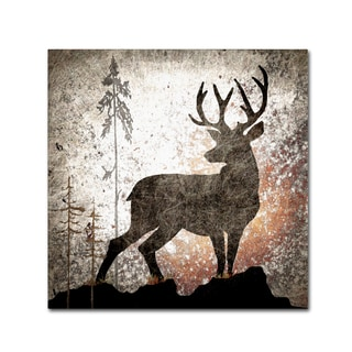 LightBoxJournal 'Calling Deer' Canvas Art
