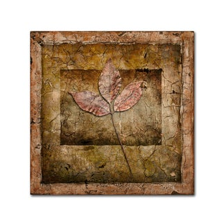 LightBoxJournal 'Autumn Leaves II' Canvas Art