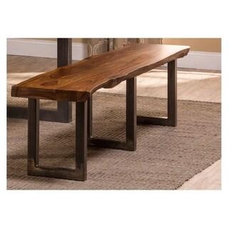 Hillsdale Furniture Natural Sheesham Emerson Bench