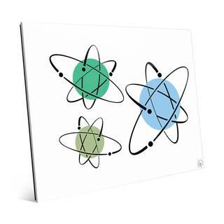 Cooler Atoms Astrobursts Wall Art Print on Acrylic