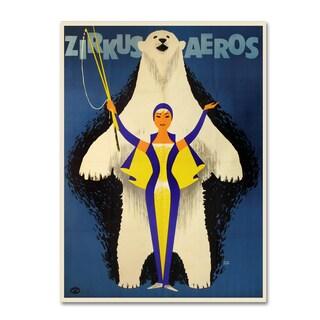 Vintage Apple Collection 'Aero Circus' Canvas Art