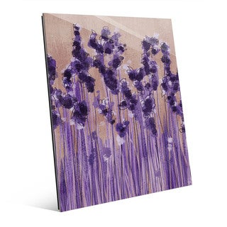 Lavender Blossoms Wall Art Print on Acrylic