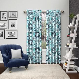 Pairs to Go Bradway Rod Pocket Curtain Panel Pair