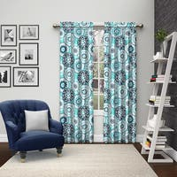 Pairs to Go Bradway Rod Pocket Curtain Panel Pair
