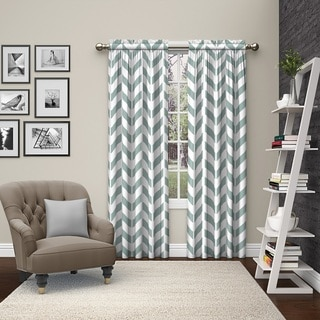 Captivating Buy Chevron Curtains U0026 Drapes Online At Overstock.com | Our Best Window  Treatments Deals