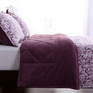 Berkshire Blanket Lace Printed Comforter and Shams Set