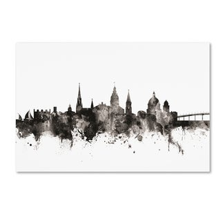 Michael Tompsett 'Annapolis Maryland Skyline III' Canvas Art
