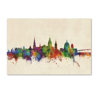 Michael Tompsett 'Annapolis Maryland Skyline' Canvas Art